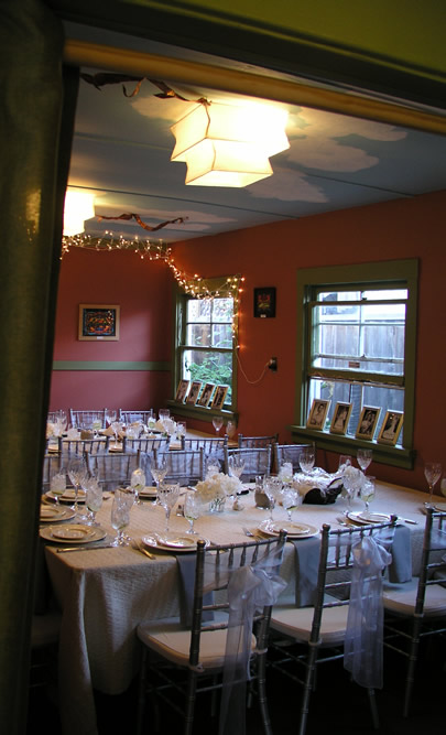 The Windmill dining room for a private event