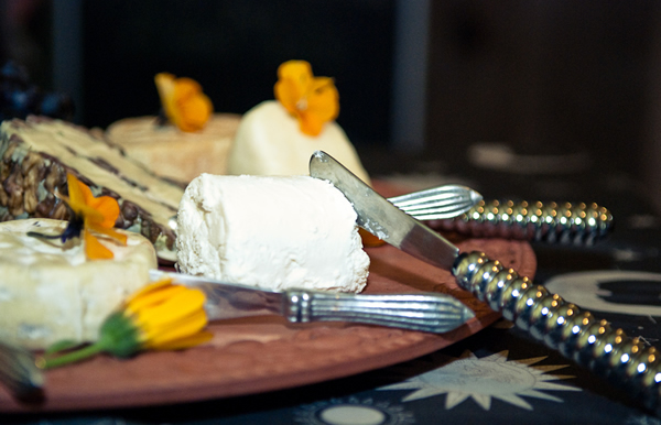 Cheese Platter featuring Goat Cheese